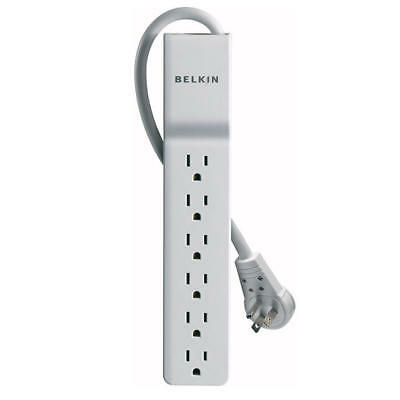 Belkin Home/Office 6 outlet 8ft Surge Protector Rotating Plug Power Strip