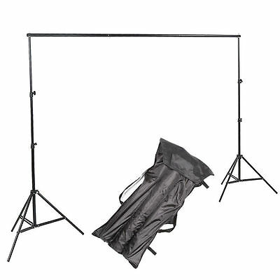 Photo Studio Background 2 x 3m Backdrop Support System Set Stand Crossbar UK