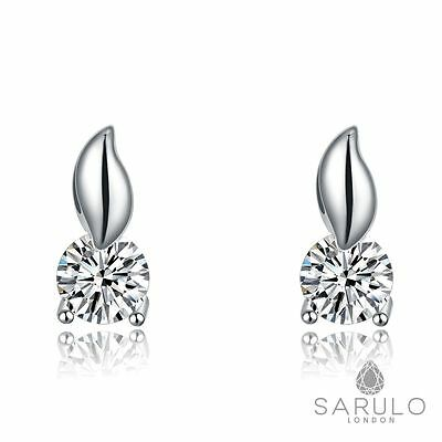 Foxtail Sarulo 925 Sterling Silver Earrings Jewelry Fashion New Gift Box Womens