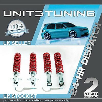 Vw Caddy Mk2 Coilover Front And Rear Adjustable Suspension Kit - Coilovers