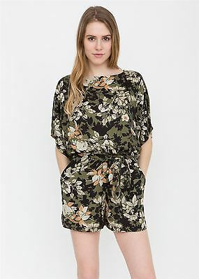 Kimono Playsuit in Floral Print