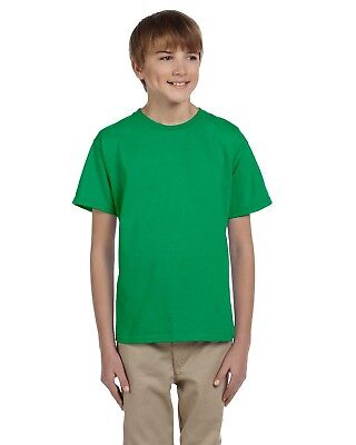 Gildan T-Shirt Youth 6.1 oz Ultra Cotton Plain Crewneck 2000B Size/Color Choice