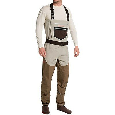 NEW IN BOX Redington SonicDry Fly Fishing Waders - Stockingfoot -Men's -Large