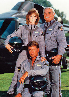 Airwolf Great Cast Poster