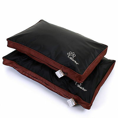 Dog Cat Pet Bed Mattress Cushion Removable Zip Cover Washable Waterproof