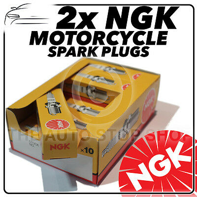 2x NGK Spark Plugs for DUCATI 750cc 750 Monster 96-> No.4339