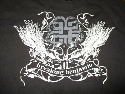 2007 BREAKING BENJAMIN Concert Tour (LG) T-Shirt