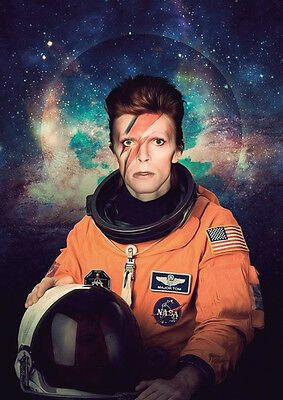 David Bowie Major Tom Art Poster