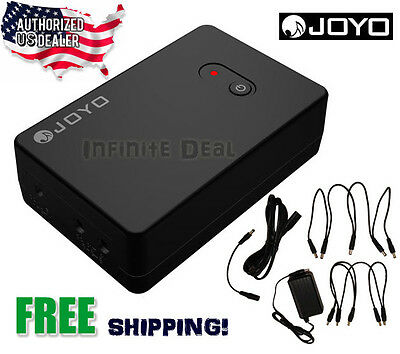 New JOYO JMP-01 Portable Rechargeable Guitar Effects Pedal Power Supply 9V USA