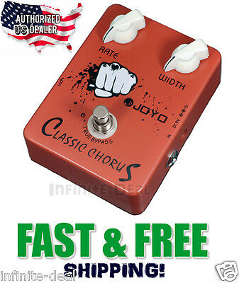 New JOYO JF-05 Classic Chorus Effects Pedal FX Stompbox True Bypass FREE Ship