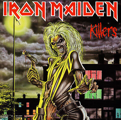 IRON MAIDEN - Killers Album Cover Art Print Poster 12 x 12