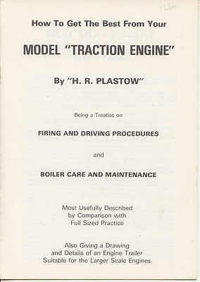 How to get the Best from Your Model Traction Engine by HR Plastow