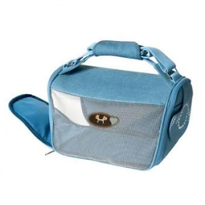 Sac de Transport Mini Doggy Bag Bleu ( Catégorie : Sac de transport chat )