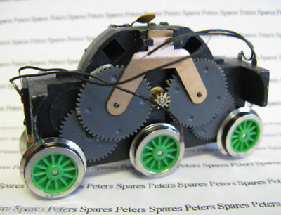 Hornby X9105 Henry Motor Drive Unit Green Wheels & Extra Pickups