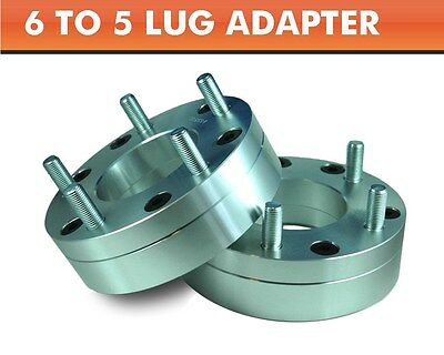 2 Wheel Adapters 6x4.5 to 5x5.5 ¦ Suzuki Vitara 5 Lug Wheels On Dodge Viper