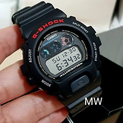Casio G-Shock DW-6900-1V Men Digital Black Resin Strap Sport Quartz Watch DW6900