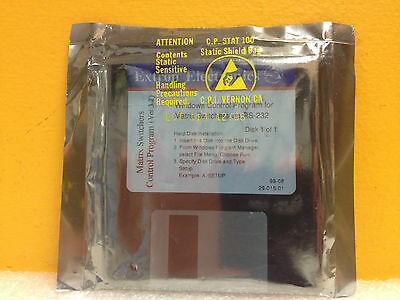 Extron 29-015-01 Windows Control Program, For Matrix Switches, Ver. 3.2, New!