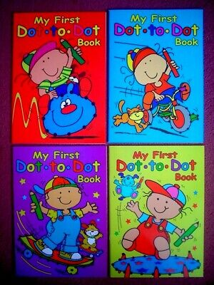 My First Dot To Dot Book - A4  Childrens Activity Book