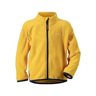 Didriksons Monte Kids Jacket Microfleece yellow gelb Thermal System