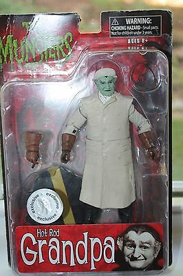 THE MUNSTERS GRANDPA Action Figure Figurine Collectible New 2013