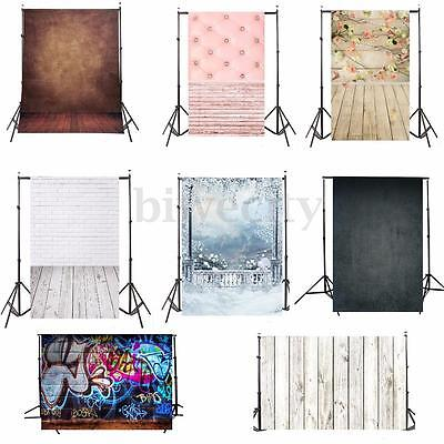 25 Types 3x5FT Vinyl Photography Backdrop Wall Wood Floor Photo Background Prop