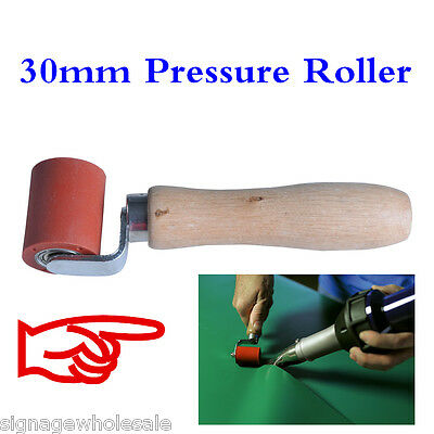 30mm Silicone Gel Seam Pressure Roller Hand Press Tool for Roofing PVC/TPO/EPDM