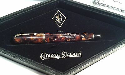 CONWAY STEWART 1905-2005  FOUNTAIN PEN no 126 of 205 unused/uninked/box/papes