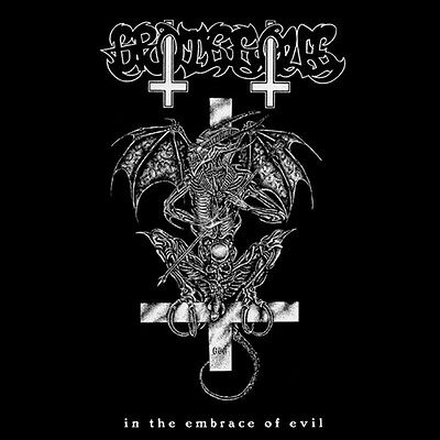 Grotesque - In The Embrace of Evil + Poster (Swe), Pic LP