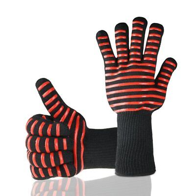 Oven/BBQ kitchen Heat Resistant Gloves Cooking Silicone Mitts Baking Pot Holder