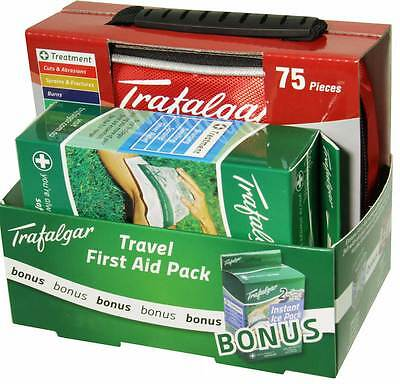 Travel First Aid Kit + FREE Instant Ice Pack by Trafalgar
