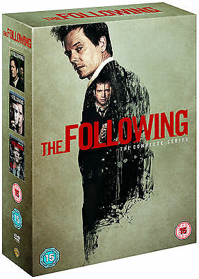 THE FOLLOWING Complete Season Series 1 2 & 3 Collection Boxset NEW DVD