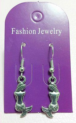 MERMAID Earrings - Feminine Power - Animal Totem