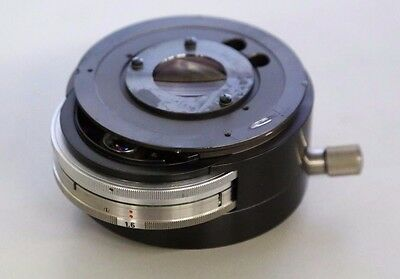 Carl Zeiss Photomicroscope III Optovar Magnification Changer Microscope Part