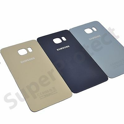 Genuine Samsung Galaxy S6 Edge PLUS SM-G928F Rear Back Battery Cover Glass Panel