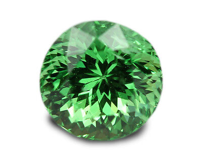 0.71 Carats Natural Tsavorite Loose Gemstone - Round