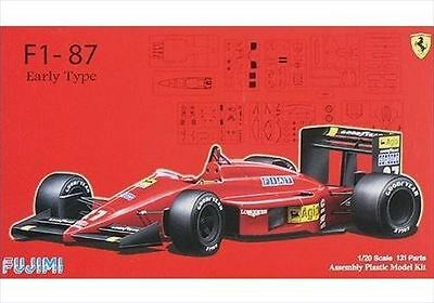 Fujimi GP20 1/20 F1-87 Ferrari Early Type Limited Ver. from Japan Rare