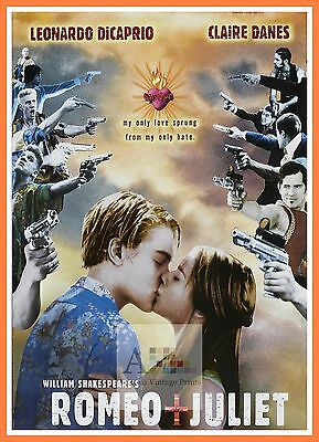 Romeo And  Juliet   1990's Movie Posters Classic Cinema