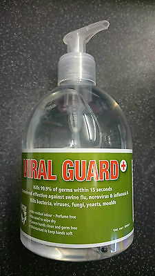 Viral Guard Alcohol Hand Cleaner 500ml
