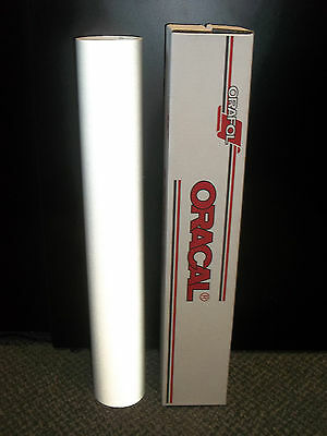 """Oracal 5500 Reflective White Sign Vinyl 24""""x10ft 7 year Reflective!!!!"""