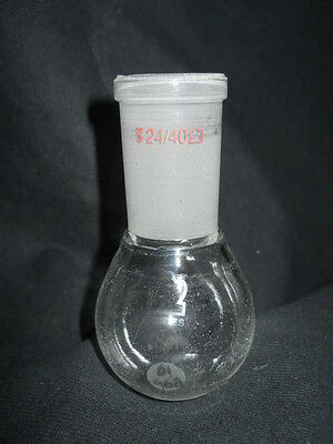 Kontes Ace Glass 24/40 Joint 50mL Heavy Wall Rotary Evaporating Flask, Chipped