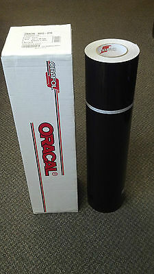 "Oracal 341 1 Roll 24""x50yd(150ft) Gloss Black Sign Vinyl"