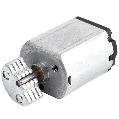 DC1.5V-9V 0.08A 3200RPM Output Speed Micro Vibrating Motor, 18x15x12mm Silver WS