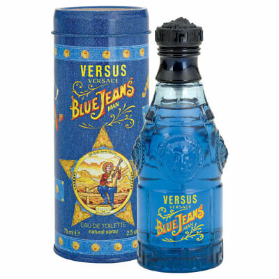 Versus Blue Jeans Eau De Toilette 75mL Spray