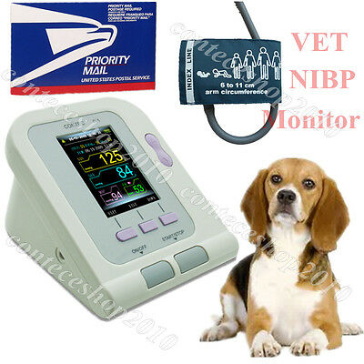 CONTEC08a-VET Digital Blood Pressure Monitor,Veterinary/Animal NIBP Cuff,FDA CE