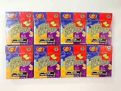 8 x 45g PACKETS OF BEAN BOOZLED JELLY BEANS - WEIRD AND WILD FLAVOURS