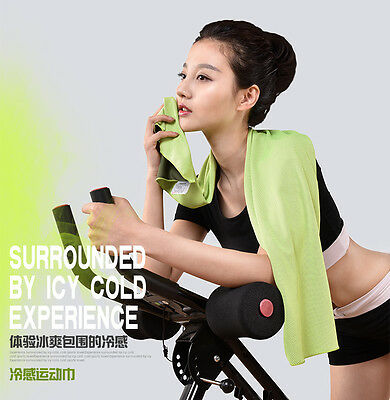 Beroyal Outdoor Sports Summer Instant Ice Cooling Towel for Gym Golf Yoga Travel