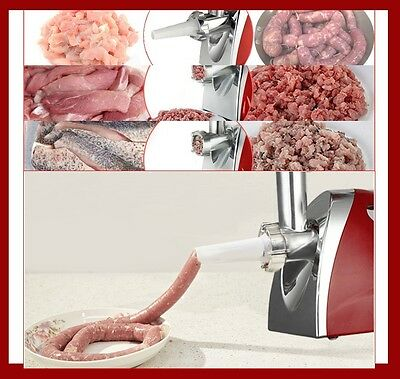 Stainless Steel Heavy duty Sausage/meat grinder & mincer maker kitchen home