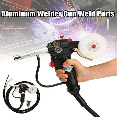 10FT MIG Welding Spool Gun Push Pull Feeder Aluminum Torch Welder With 3m Cable