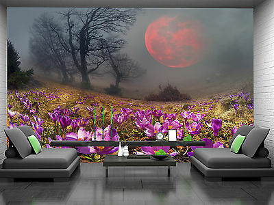 First Flowers,Mountains Wall Mural Photo Wallpaper GIANT DECOR Paper Poster Free