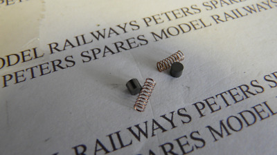 Peters Spares PS3 Replacement Mainline/Bachmann Pod Motor Carbon Brush & Springs